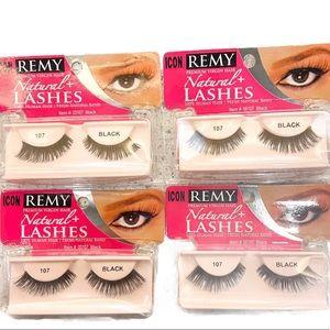 Remy Premium Natural Virgin Human Hair False Lashes